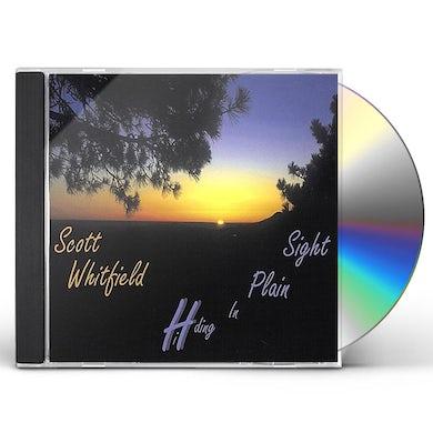 Scott Whitfield HIDING IN PLAIN SIGHT CD