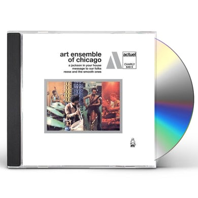 Art Ensemble Of Chicago JACKSON IN YOUR HOUSE / A MESSAGE TO YOUR FOLKS CD