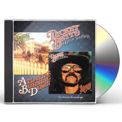 Dickey Betts GREAT SOUTHERN / ATLANTA BURNING CD