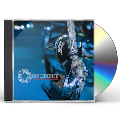 Sonny Landreth RECORDED LIVE IN LAFAYETTE CD