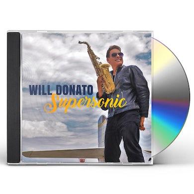 Will Donato SUPERSONIC CD