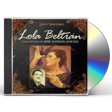 Lola Beltran CANTA 16 EXITOS DE JOSE ALFREDO JIMENEZ CD