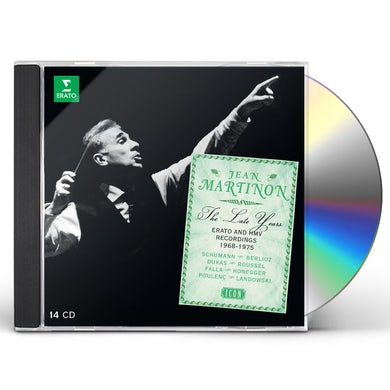 Jean Martinon ICON - THE LATE YEARS CD