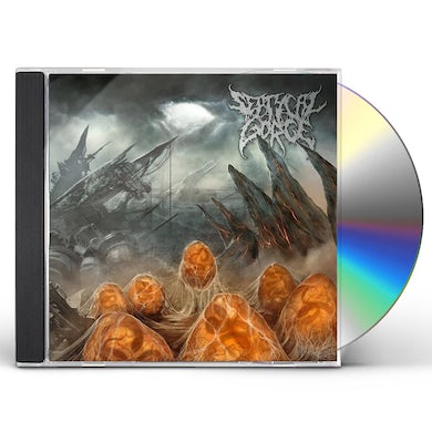 Septycal Gorge SCOURGE OF THE FORMLESS BREED CD