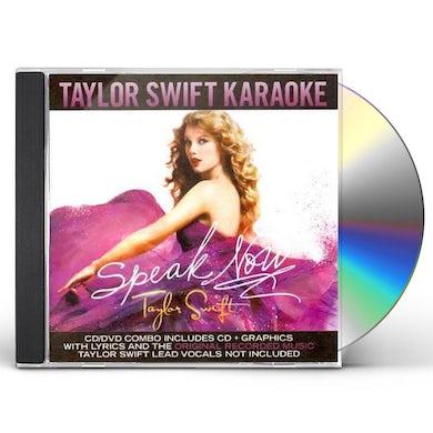 Taylor Swift Speak Now Karaoke (CD+G/DVD Combo) CD