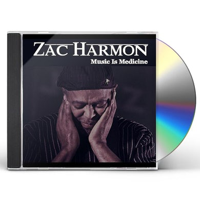 Zac Harmon MUSIC IS MEDICINE CD