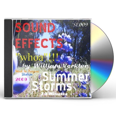 William Verkler SUMMER STORMS 'WHOA' SE009 CD