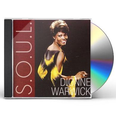 Dionne Warwick SOUL CD