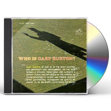 WHO IS GARY BURTON CD
