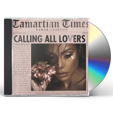 Tamar Braxton CALLING ALL LOVERS CD