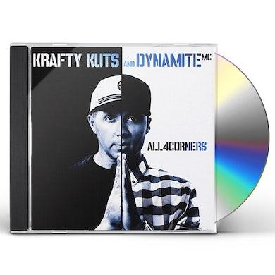 Krafty Kuts & Dynamite MC ALL 4 CORNERS CD