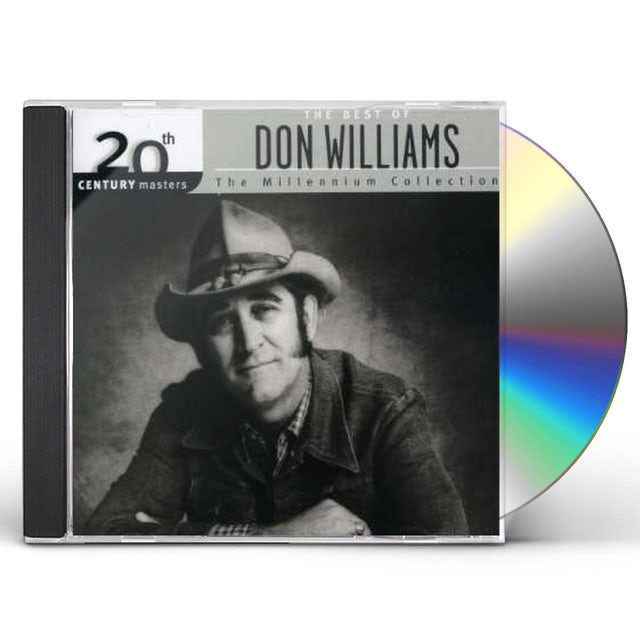 Don Williams 20TH CENTURY MASTERS: MILLENNIUM COLLECTION CD