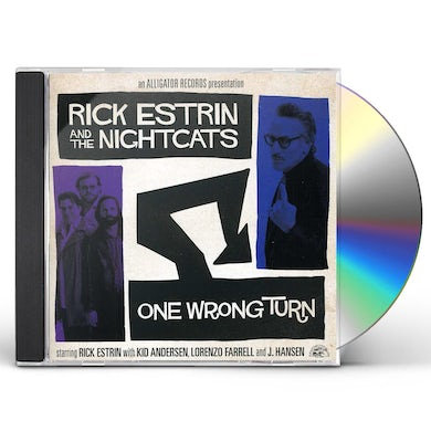 Rick Estrin & The Nightcats ONE WRONG TURN CD