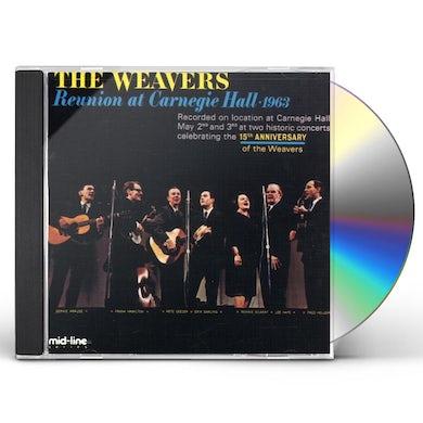 Weavers REUNION AT CARNEGIE HALL 1963 1 CD