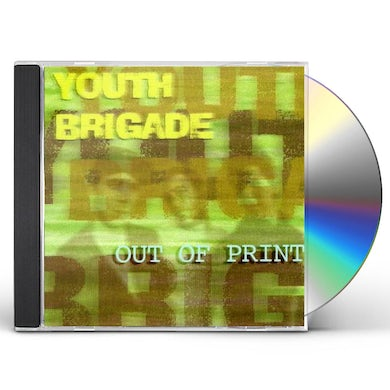Youth Brigade OUT OF PRINT CD