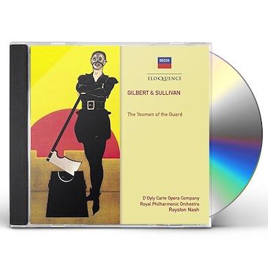 D'Oyly Carte Opera Company GILBERT & SULLIVAN: YEOMEN OF THE GUARD CD