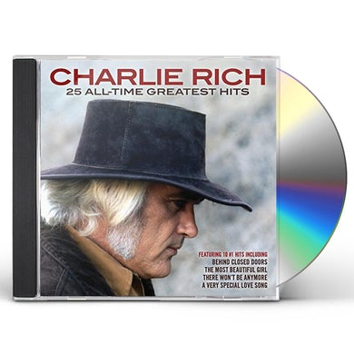 Charlie Rich 25 ALL-TIME GREATEST HITS CD