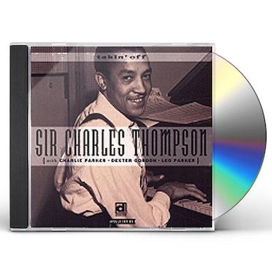 Sir Charles Thompson TAKIN' OFF CD