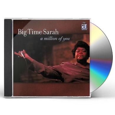 Big Time Sarah MILLION OF YOU CD