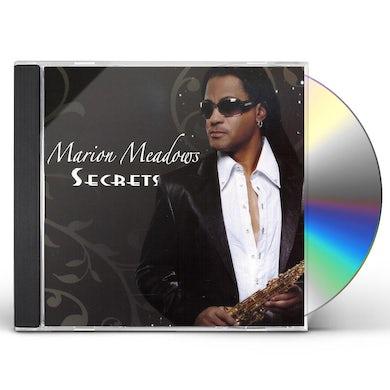 Marion Meadows SECRET CD