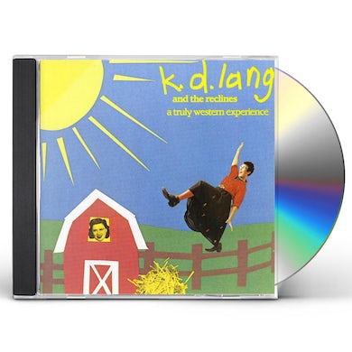 K.D. Lang TRULY WESTERN EXPERIENCE CD