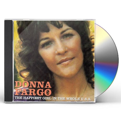Donna Fargo HAPPIEST GIRL IN THE WHOLE USA CD