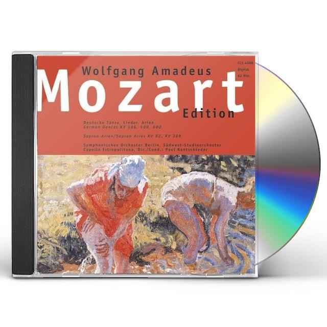 Mozart GERMAN DANCES CD