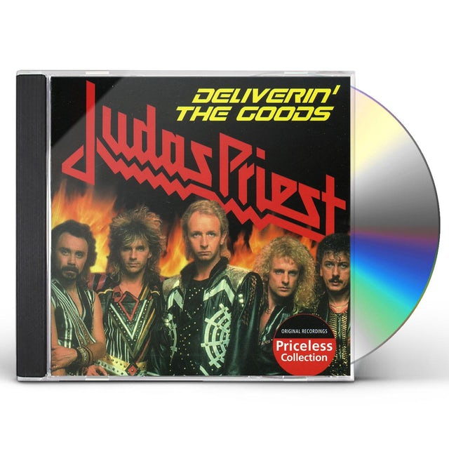 Judas Priest DELIVERIN THE GOODS CD