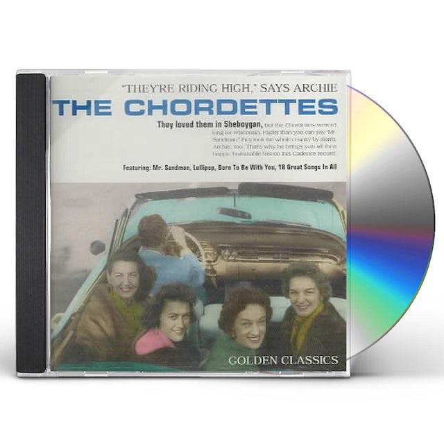 Chordettes GOLDEN CLASSICS CD