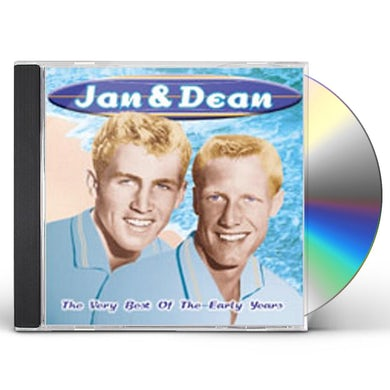 Jan & Dean VERY BEST OF EARLY YEARS CD