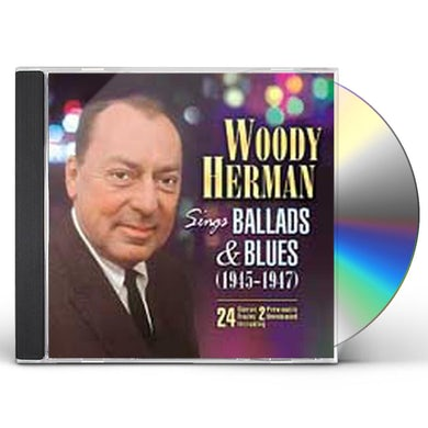 Woody Herman SINGS BALLADS & BLUES CD