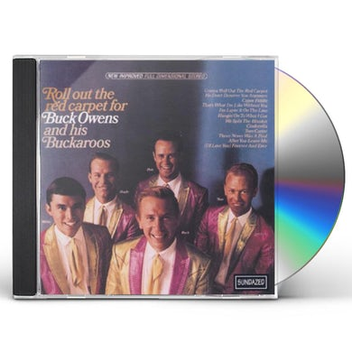 Buck Owens ROLL OUT THE RED CARPET CD