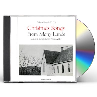 Alan Mills CHRISTMAS SONGS FROM MANY LANDS CD