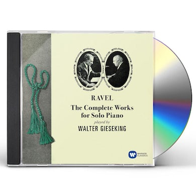 Walter Gieseking RAVEL: THE COMPLETE WORKS FOR SOLO PIANO CD