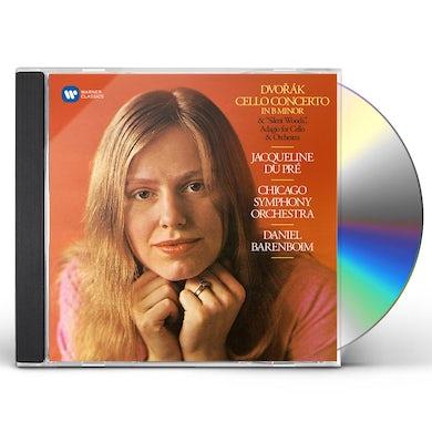 Jacqueline Du Pre DVORAK: CELLO CONCERTO CD