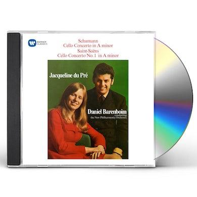 Jacqueline Du Pre SCHUMANN: CELLO CONCERTO / SAINT-SAENS: CELLO CD