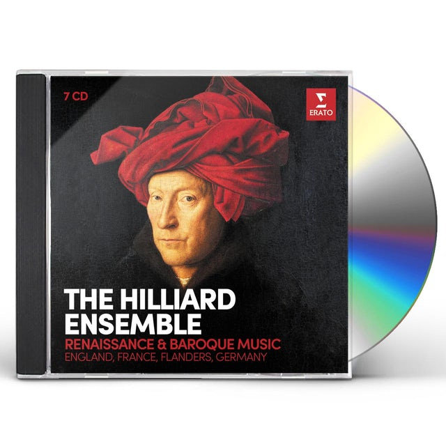 Hilliard Ensemble RENAISSANCE & BAROQUE VOCAL MUSIC CD