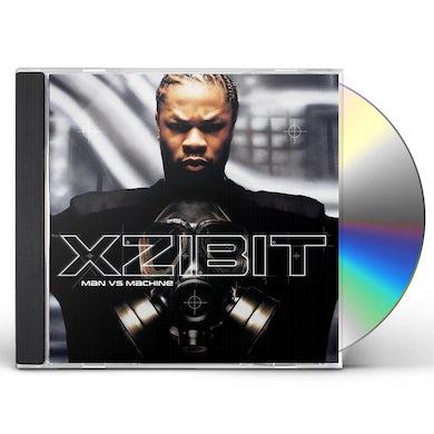 Xzibit MAN VS MACHINE (GOLD SERIES) CD