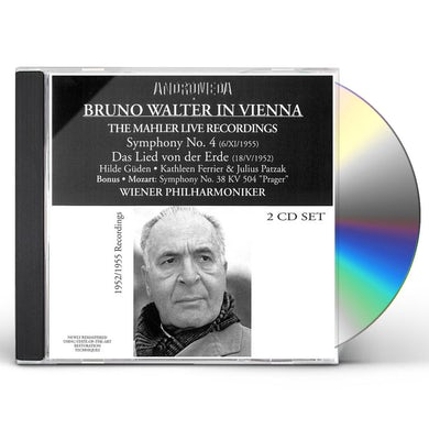 Gustav Mahler DAS LIED VON DER ERDE SYM 4 CD