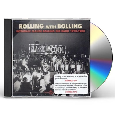 Claude Bolling  ROLLING WITH BOLLING 1973-1983 CD