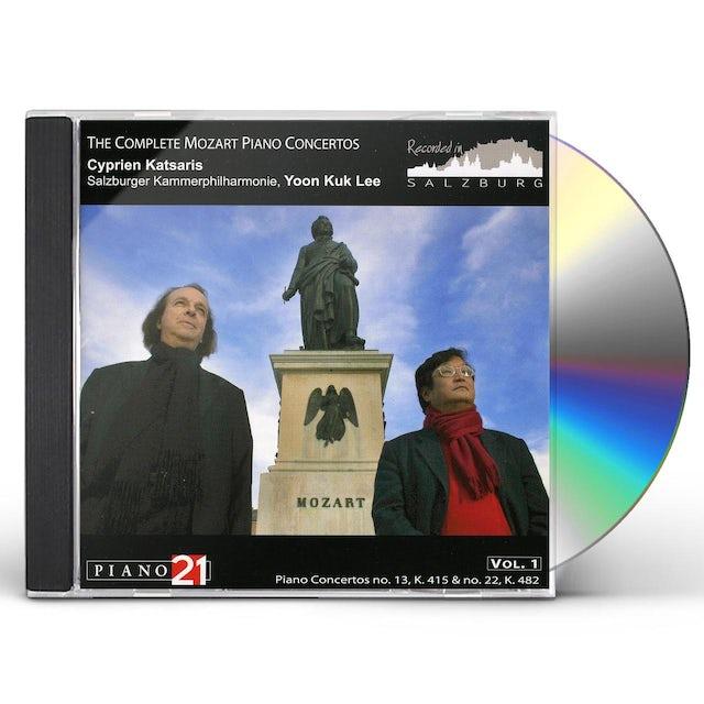 Mozart CONCERTOS PIANO 1 CD