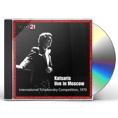 Cyprien Katsaris LIVE IN MOSCOW CD