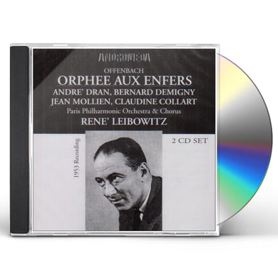 Offenbach ORPHEE AUX ENFERS CD