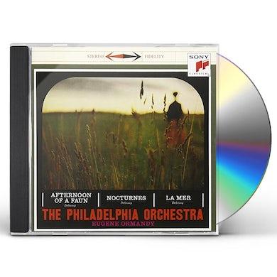 Eugene Ormandy DEBUSSY: LA MER / PRELUDE TO CD