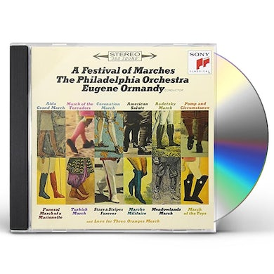 Eugene Ormandy FESTIVAL OF MARCHES CD