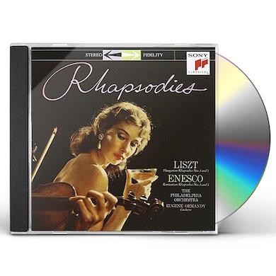 Eugene Ormandy RHAPSODIES CD