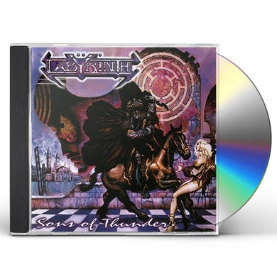 Labyrinth SONS OF THUNDER CD
