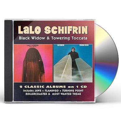 Lalo Schifrin BLACK WIDOW / TOWERING TOCCATA CD