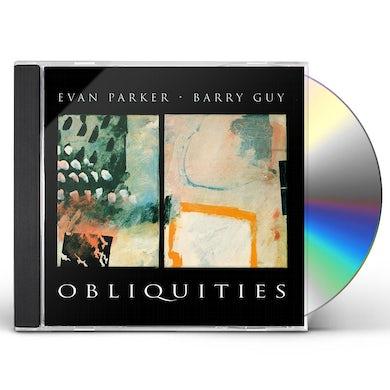 Evan Parker OBLIQUITIES CD