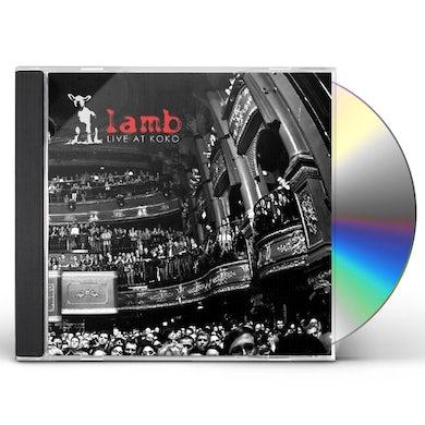Lamb LIVE AT KOKO CD